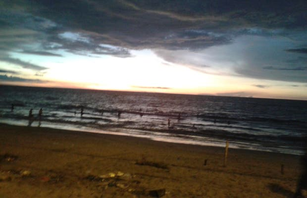 Jambelí beach
