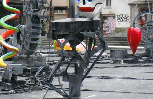 Esculturas aquáticas de Niki de Saint-Phalle