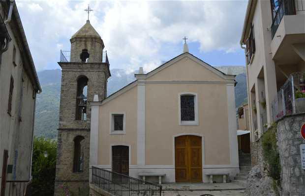 Iglesia-Campanario de Riventosa