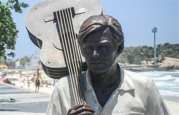 Estátua do Tom Jobim