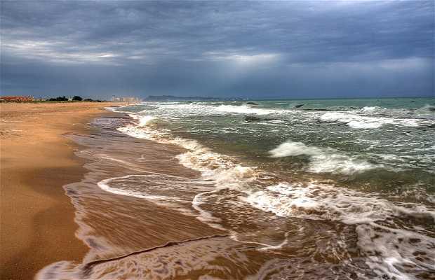 Xeraco Beach