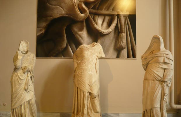 Statue Grecque de la Période Hellénistique