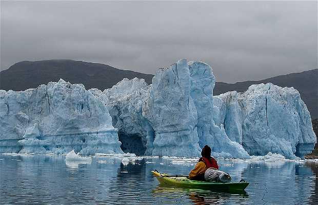 Travesía en kayak por el Sur de Groenlandia