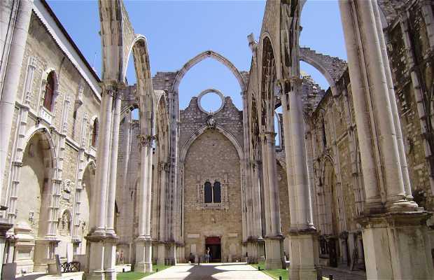 Chiesa Convento Do Carmo a Lisbona