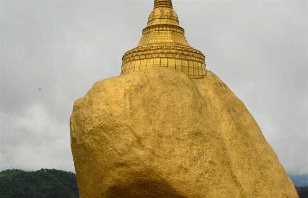 Golden Rock, Kinpun, Birmania
