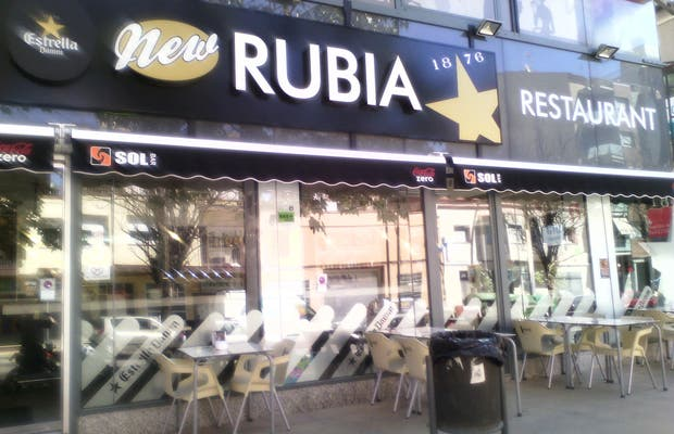 New rubia castelldefels