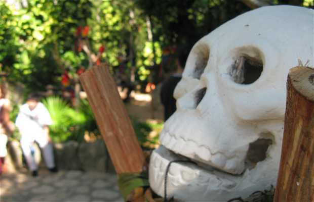 El día de los muertos en Xcaret