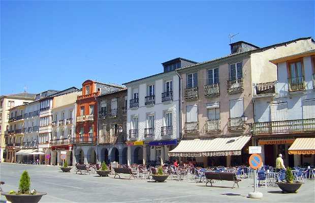 Plaza Mayor de Villafranca