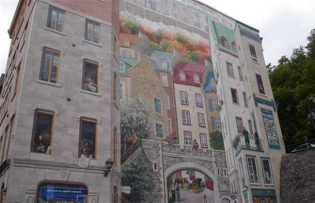 Mural Fresque des Québécois