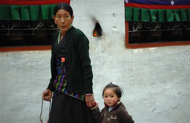 Barrio tibetano de Bodhnath (Kathmandu)