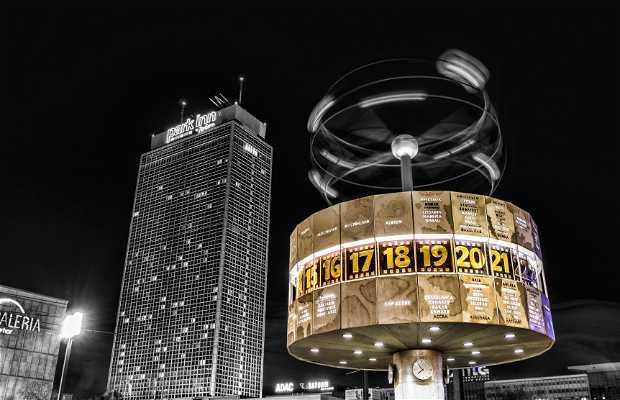 L'orologio mondiale di Berlino
