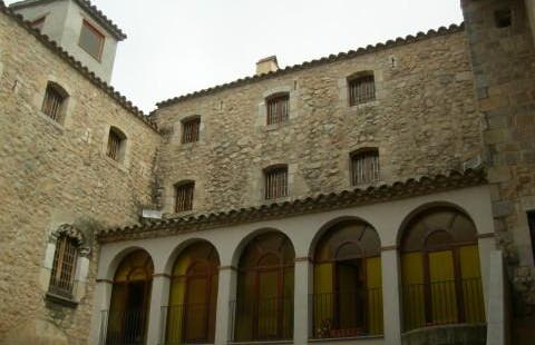 The Abbey Courtyard
