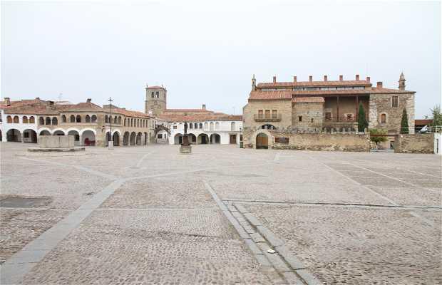 Plaza Mayor de Garrovillas