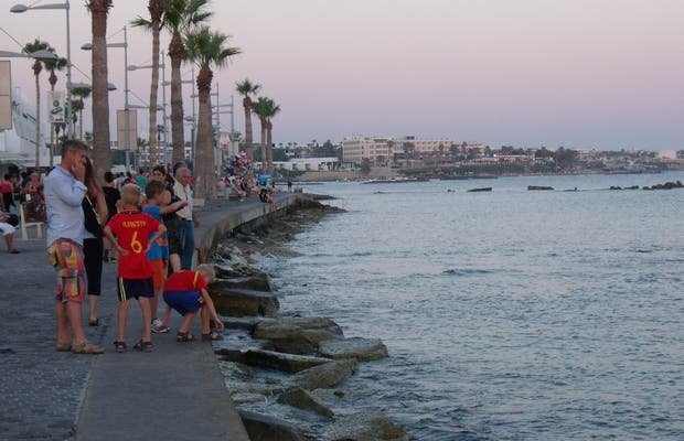 Paphos seafront