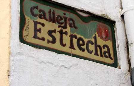 Calleja Estrecha