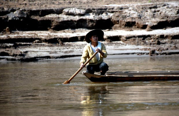La vita lungo il Mekong