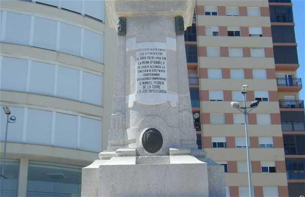 Sculpture to the Archbishop of Tarragona