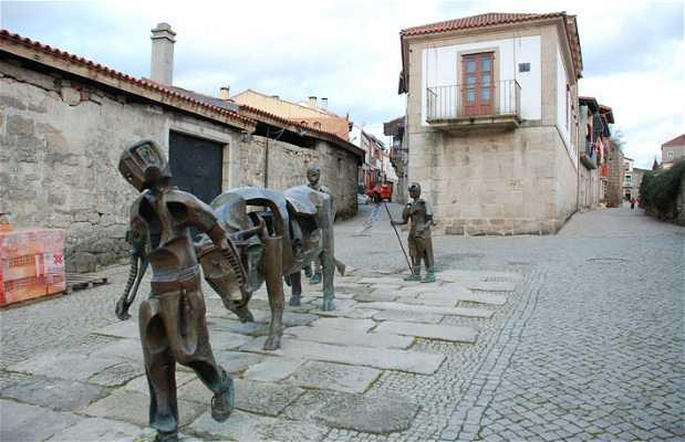 Conjunto escultórico de la Festa do Boi