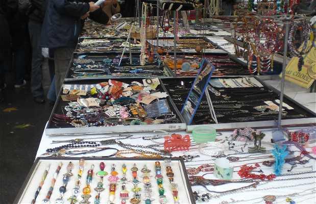 Auguste Blanqui Flea Market