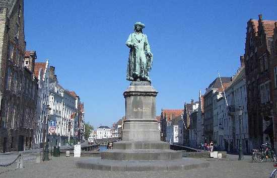 Jan van Eyck Statue