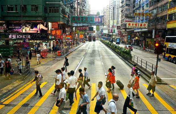 Bus por Hong Kong