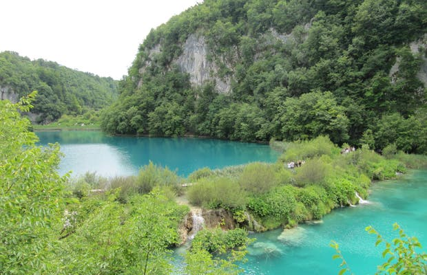 The lower Lakes of Plitvice