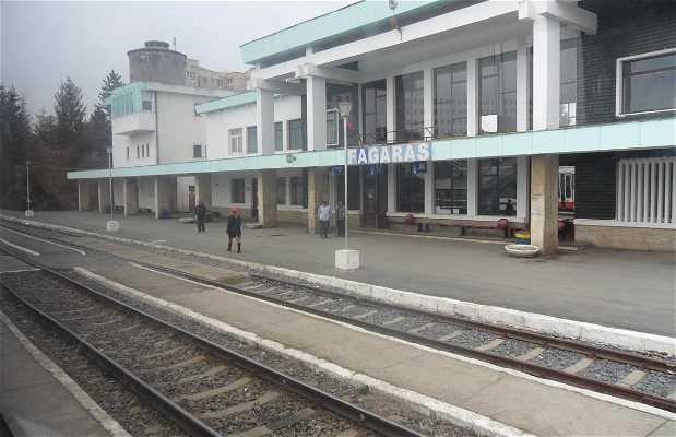 Estacion de trenes de Fagaras