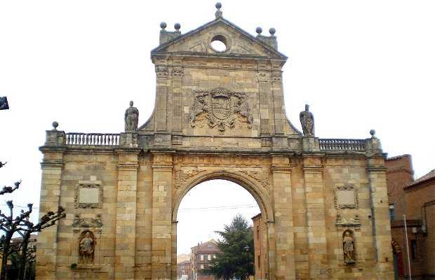 Arco di San Benito a Sahagún