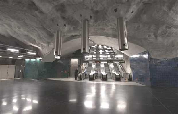 Station de métro Universitetet