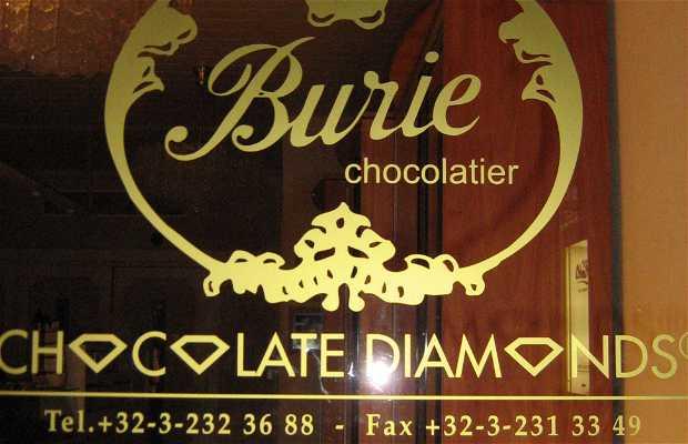 Chocolatería Chocolatier Burie