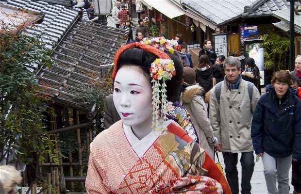 Quartiere Gion di Kyoto