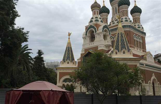 Chapelle provisoire de l'eglise orthodoxe russe