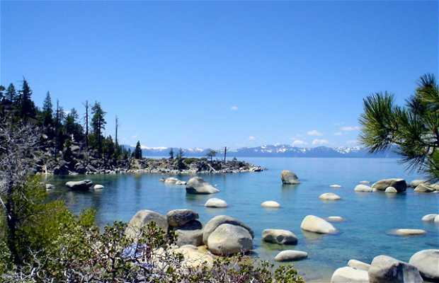 Lago Tahoe in California