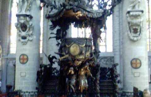 Iglesia Notre Dame aux Riches Claires, Bruselas, Bélgica