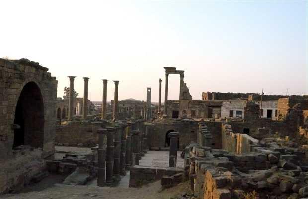 La città antica di Bosra, Damasco