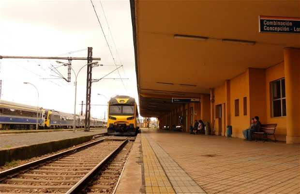 Estación de ferrocarriles Chillan
