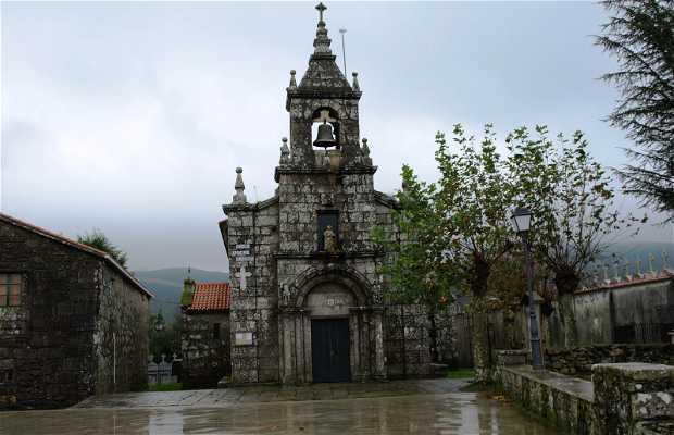 Chapel and cemetery Santa Eulalia Dumbría