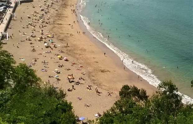 Playa Karraskio (Mendexa)