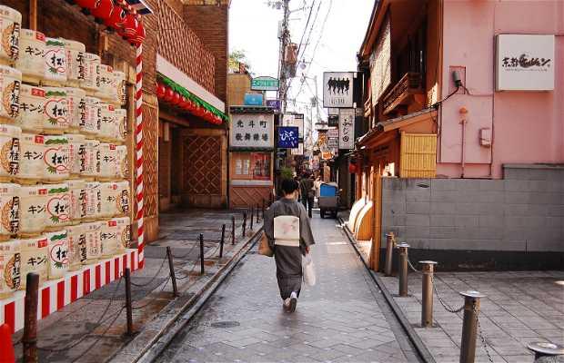 Pontochō a Kyoto