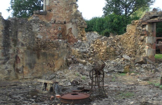 Vieille ville d'Oradour-sur-Glane