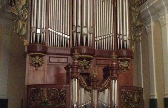 Órgano de la Catedral de Arequipa