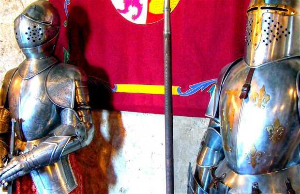 La sala del Homenaje, Castillo de Peñafiel