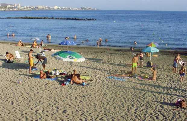 La spiaggia del Duque
