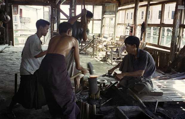 Artigianato birmano