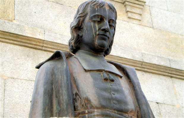 Monumento al fundador de las Escuelas Cristianas