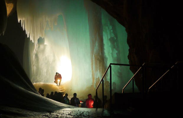 Cuevas Eisriesenwelt