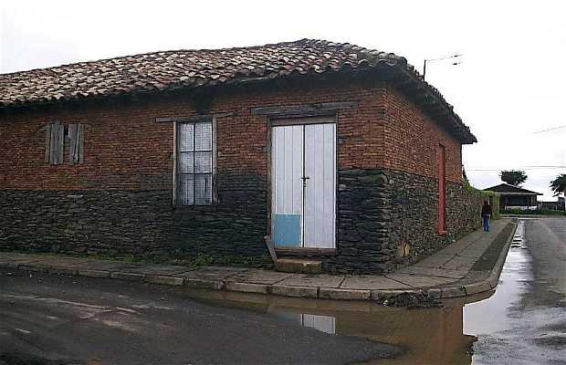 Arquitectura de las casas de Cobquecura