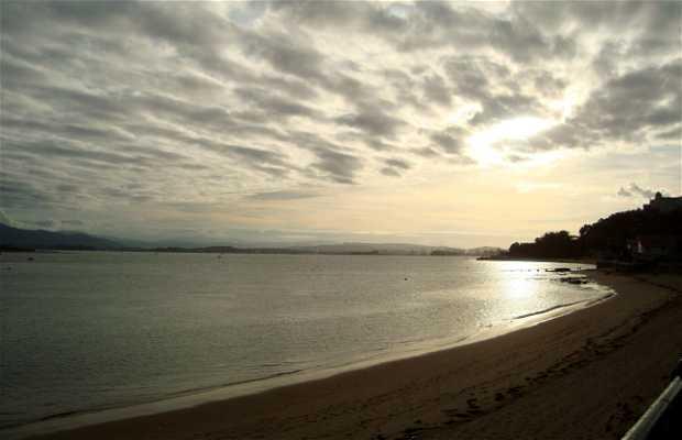 Atardecer en la Playa de La Magdalena
