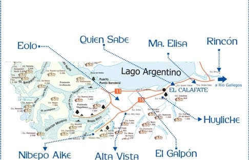 El Calafate Capital Nacional de Los Glaciares