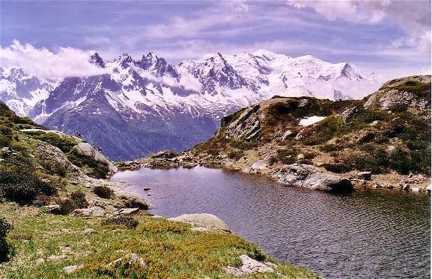 Dintorni del Monte Bianco